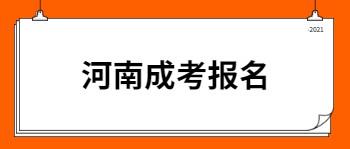河南成考报名